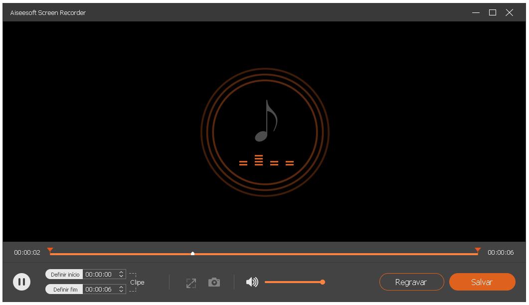 Salve as músicas em mp3 no seu computador
