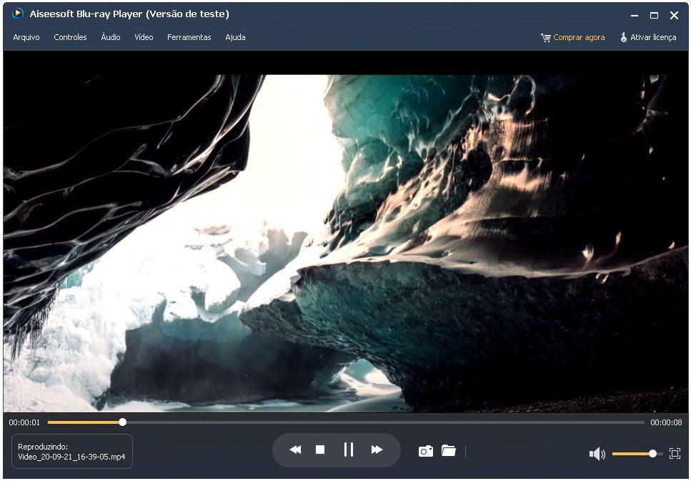 Assista vídeos em 4K com o Blu-ray Player