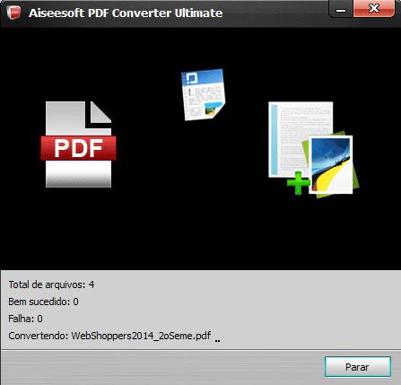Convertendo arquivos PDF