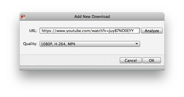 Inicie o download do vídeo que desejar