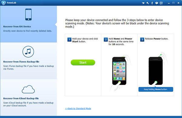 Recuperar datos iPhone