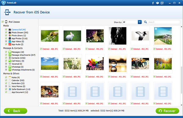 Selecione as Fotos Desejadas