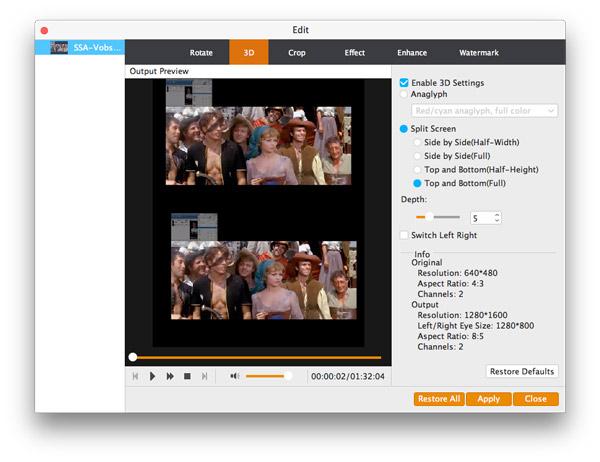 Customize seu vídeo com as opções de edição