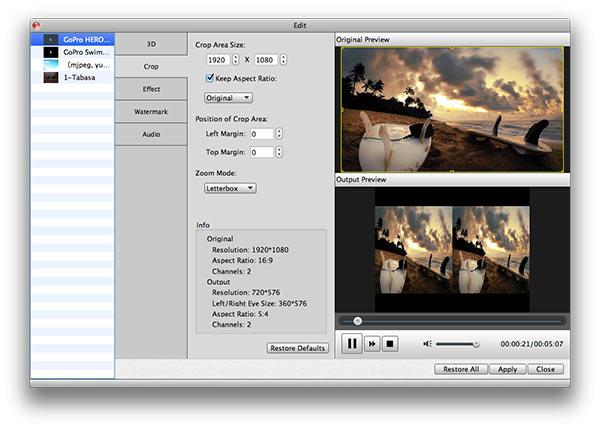 Customize seu arquivo antes de converter