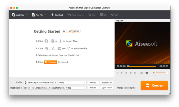 Abra o Aiseesoft Video Converter Ultimate