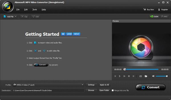 Instale e abra o Aiseesoft Video Converter Ultimate em seu computador