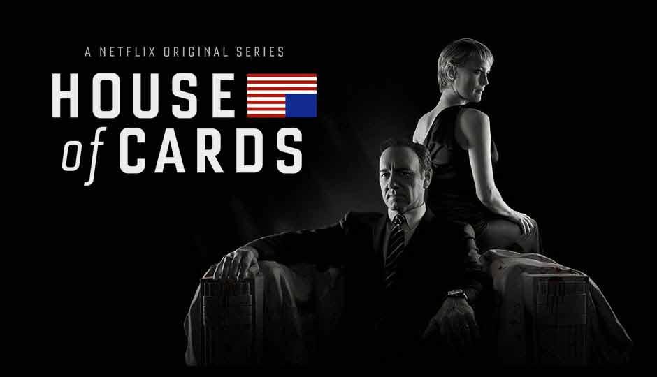 House of Cards está disponível em 4K no Netflix