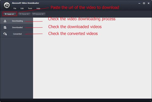 Abra o Video Converter Ultimate para baixar seus vídeos