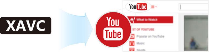 Enviar arquivos XAVC para o Youtube