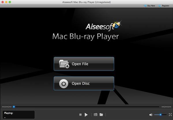 Instale e abra o Blu-ray Player
