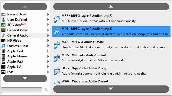 Baixe o vídeo e selecione o formato MP3