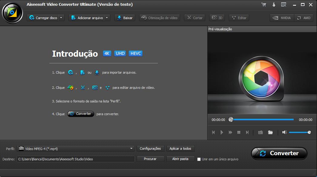 Aiseesoft Video Converter Ultimate conversor / editor de vídeo 4K