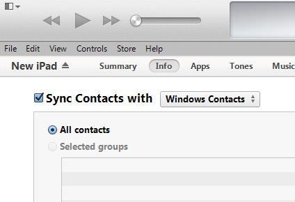 Sincronize seus contatos