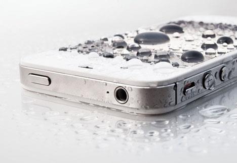 Derrubar o iPhone na água