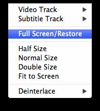 Faça os ajustes de vídeo desejados