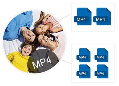 Dividir vídeos em MP4