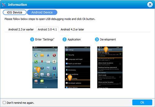 Migrar para iOS - Android 3.0 a 4.1