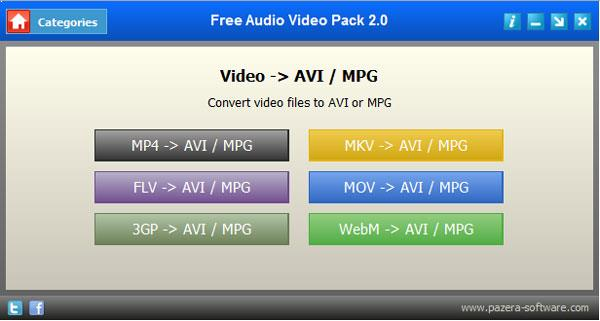 Pazera Video Converters Suite
