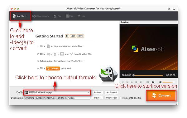 Abra o Video Converter Ultimate em seu Mac