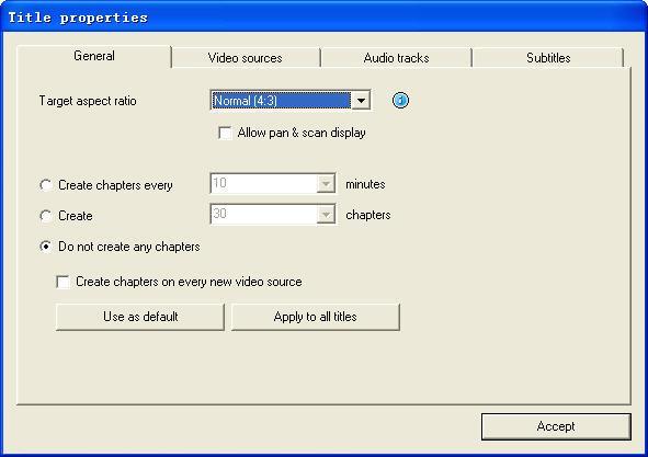 Edite as configurações gerais