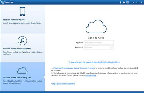 Recupere seus contatos de um backup do iCloud
