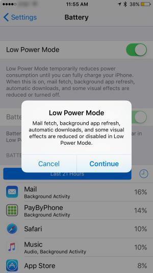 Dicas para economizar bateria do iPhone