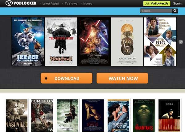Vodlocker site para ver filmes