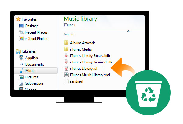 Reconstruir biblioteca do iTunes