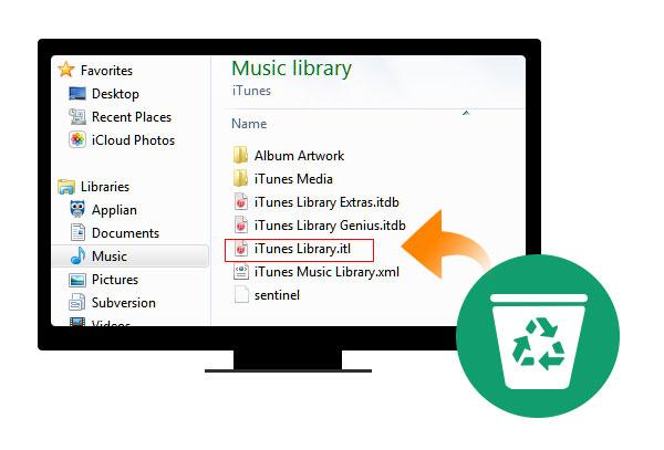 Reconstruir biblioteca do iTunes