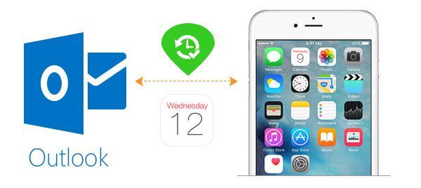 Sincronizar calendário Outlook com um iPhone
