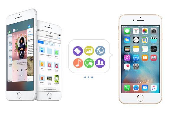 Transfira seus arquivos para seu iPhone novo