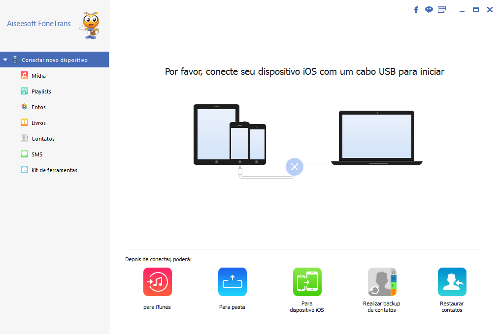 transferir fotos para ipad com FoneTrans