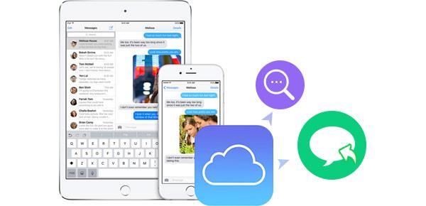 Visualizar mensagens do iCloud