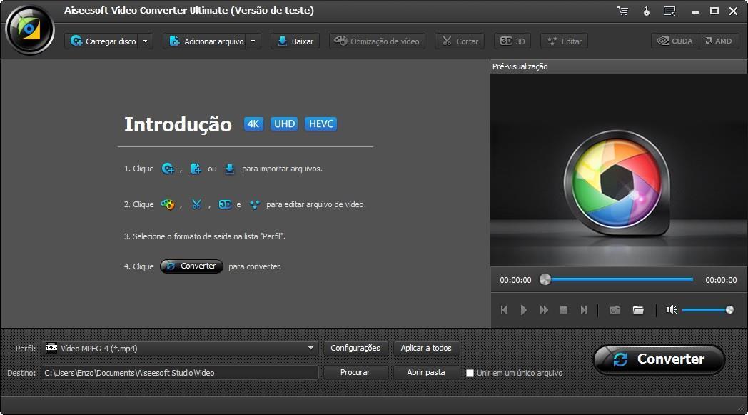 Abra o Aiseesoft Video Converter Ultimate