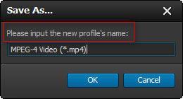 Insira um nome para seu perfil