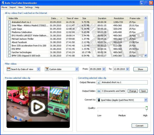 Auto YouTube Downloader