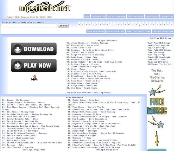 www.mp3fresh.net