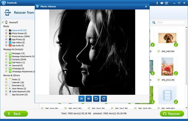 Visualize suas fotos do iCloud