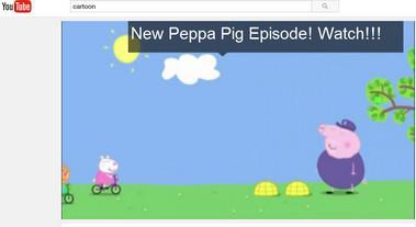 Assista desenhos animados grátis no YouTube