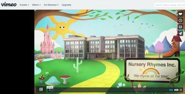 Assista desenhos animados grátis no Vimeo