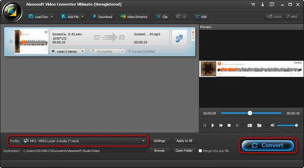 Converta sua música para MP3
