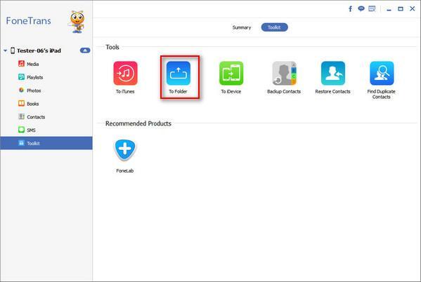 Faça um backup de seu iPad