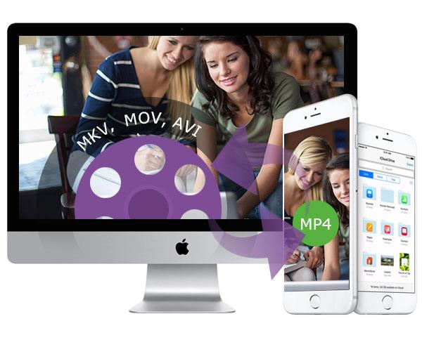 Converter arquivos para MP4 no Mac
