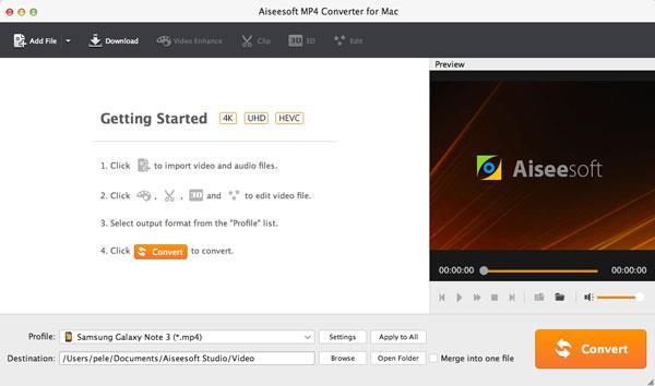 Abra o Video Converter Ultimate para Mac