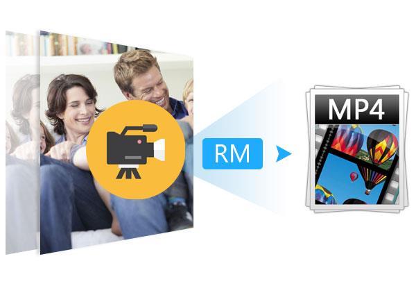 Converter arquivos RM para MP4