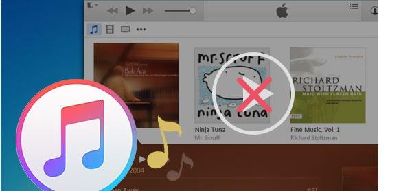 O iTunes não toca as músicas