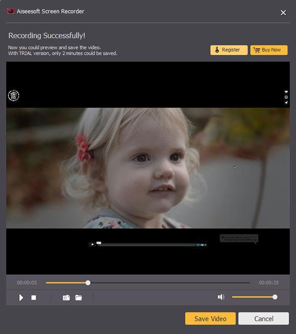 Pré-visualize seu vídeo