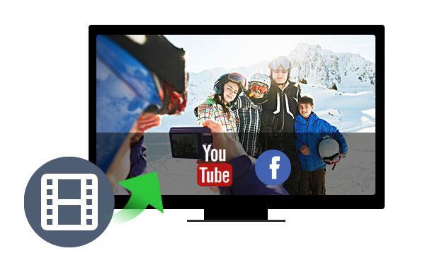 Como enviar vídeos para o YouTube ou Facebook