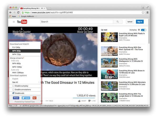 Baixe vídeos do YouTube com o Chrome