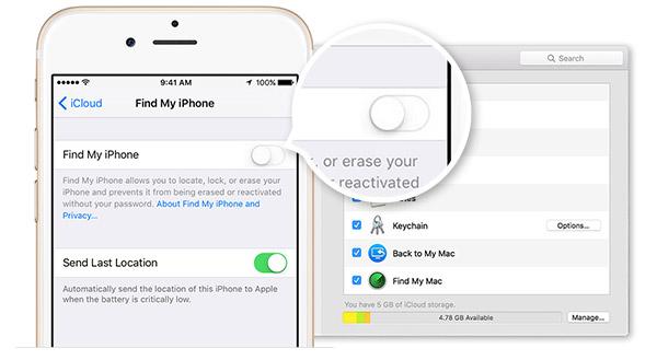 Como desativar a função Buscar iPhone